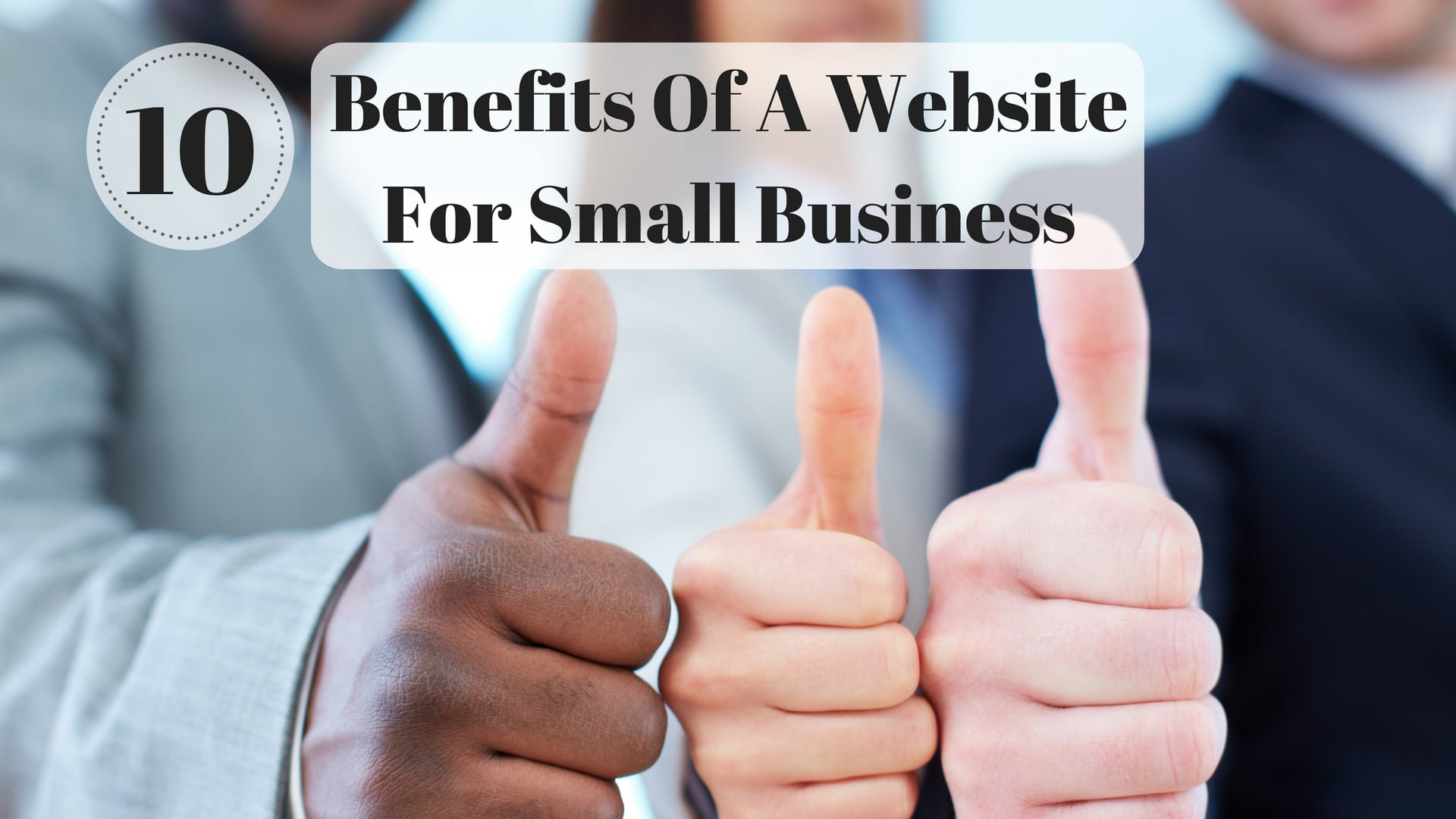 benefits of a website for small business